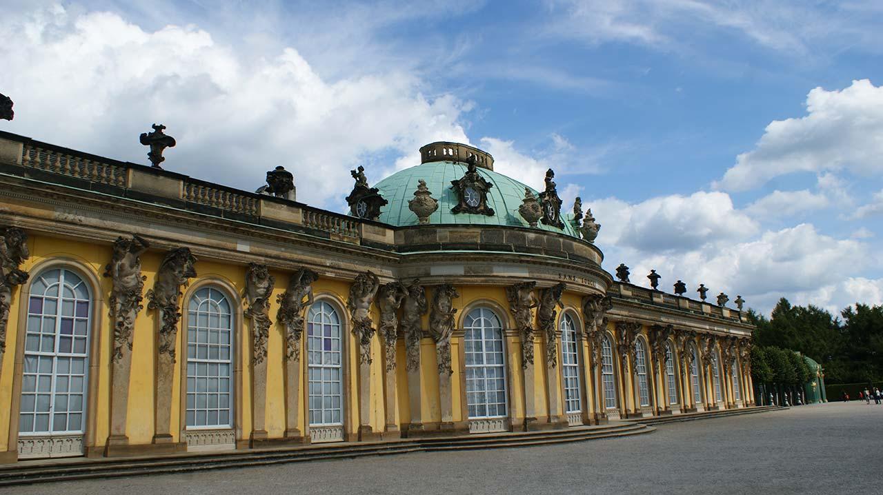 curly nomad germany sanssouci palace photo