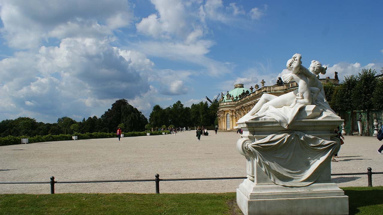 curly nomad germany sanssouci statues image