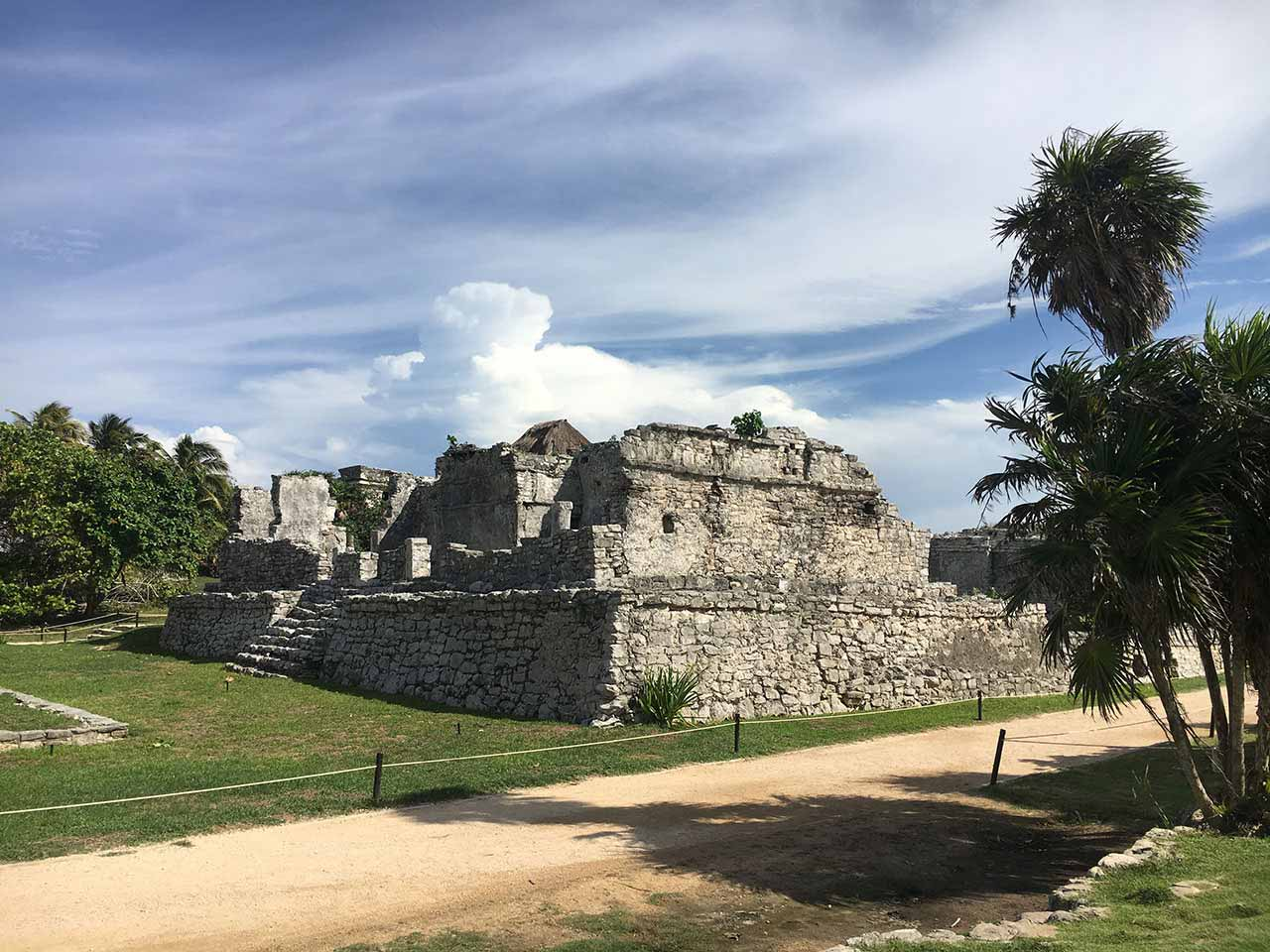 curly nomad mexico tulum ancient city photo