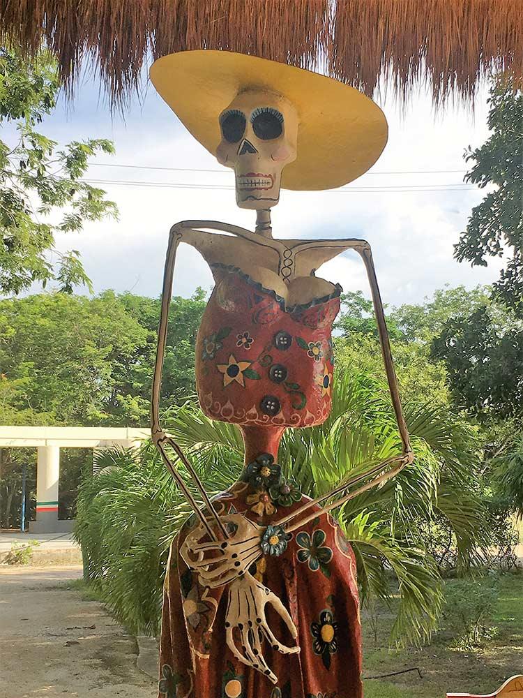 curly nomad mexico tulum dia de los muertos image