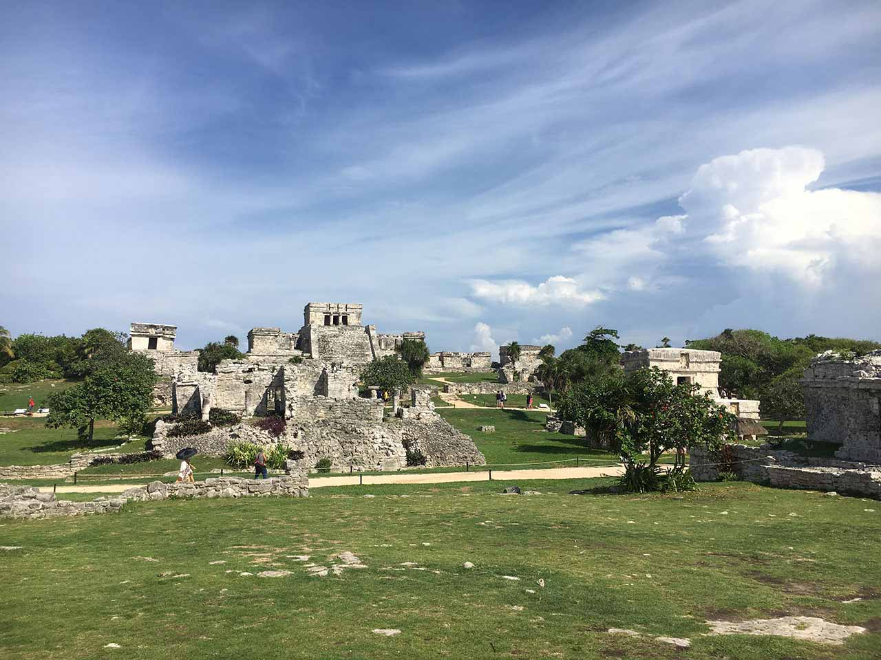 curly nomad mexico tulum ruins1 image
