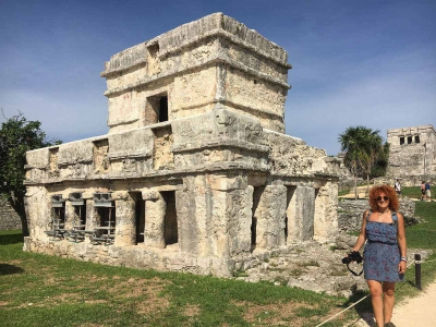 curly nomad mexico tulum ruins2 image
