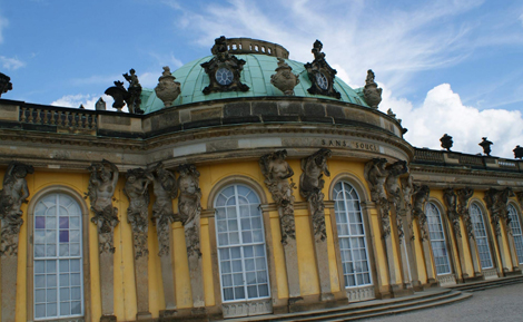 curlynomad-europe-sanssouci palace-germany image