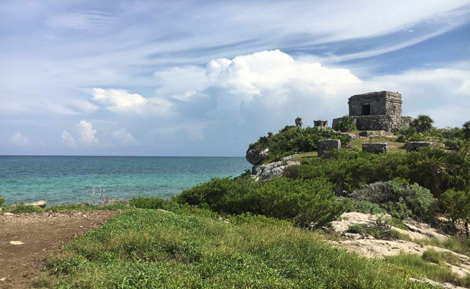 curlynomad-north_america-tulum_mayan_ruins mexico image