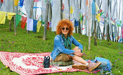 curlynomad bhutan image