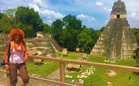 curlynomad Tikal Maya image