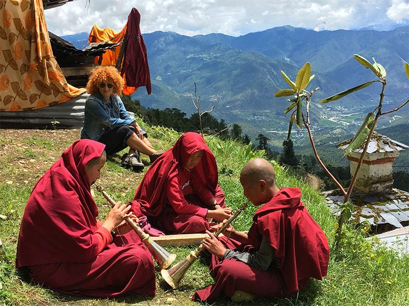 curlynomad friends bhutan image
