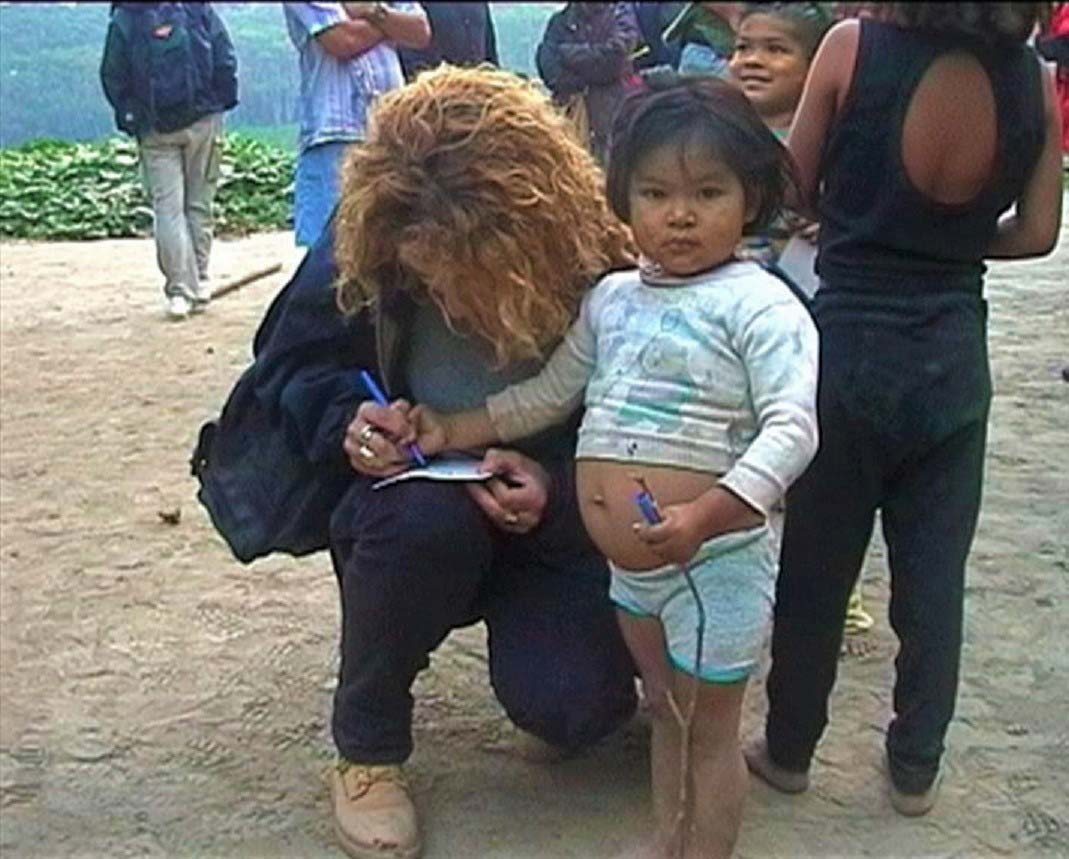 curly nomad peru amazon river little girls jungle home family photo