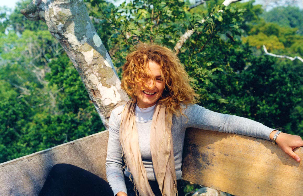 curly nomad peru amazon river in the jungle treehouse photo