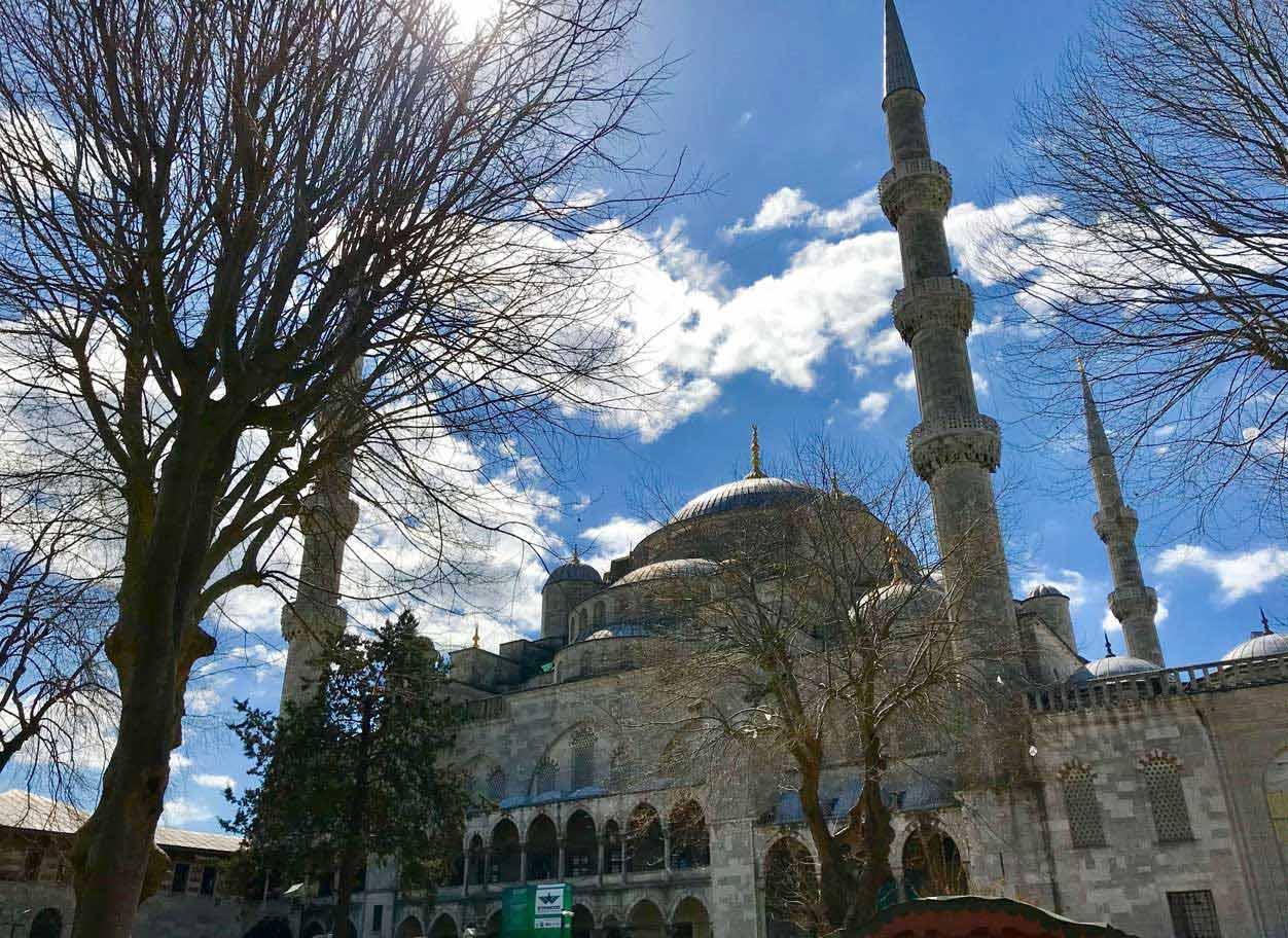 curlynomad turkey istanbul inside blue mosque sunshine sultanahmet camii photo