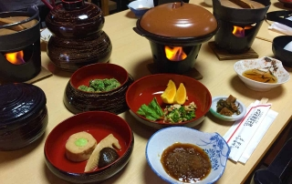 curly nomad asia japan nara traditional feast foodie's heaven photo
