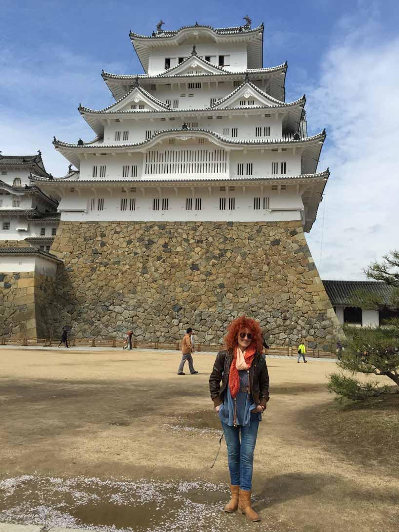 curly nomad asia japan himeji castle photo